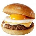 ひと足お先に秋気分!「とろ~り月見の肉厚ハンバーガー」など期間限定発売