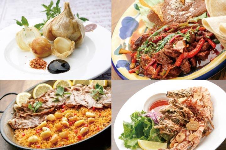 世界のニンニク料理が集結!【ガーリックパラダイス】開催!