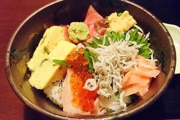 魚がし丼 850円