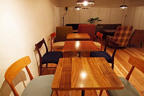 『scopp cafe』の店内2
