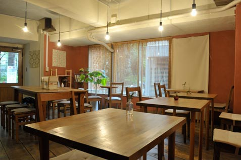 『CAFE TERVE!』店内イメージ