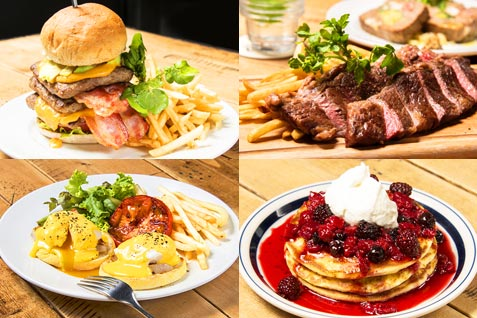 「Glorious Chain Café」の料理例