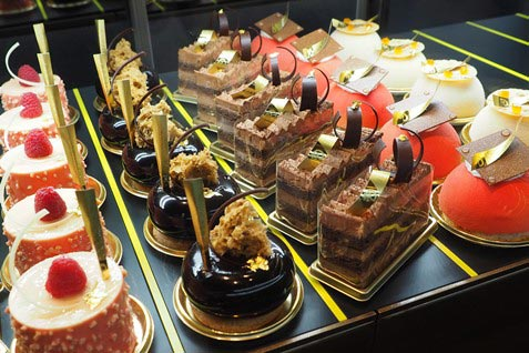 『Patisserie & Cafe DEL'IMMO』のケーキ