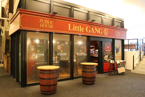 『PUBLIC HOUSE Little GANG』の外観