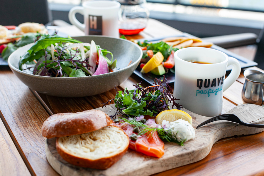 「QUAYS pacific grill」のモーニング